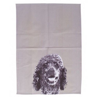 Mog & Bone Dog Breeds Tea Towel Poodle
