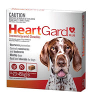 HeartGard Large Red 23-45kgs 6pk