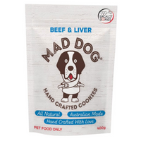 Mad Dog Cookies Beef & Liver Refill Pack