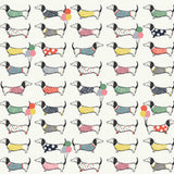The Art File Dachshund Flat Wrapping Sheet 70 x 50cm