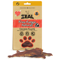 Zeal Free Range Naturals Chicken Fillets 125g