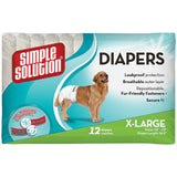 Simple Solution Disposable Diapers 12pk XLarge