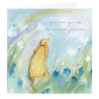Whistlefish Gone From My Side Pet Sympathy Card