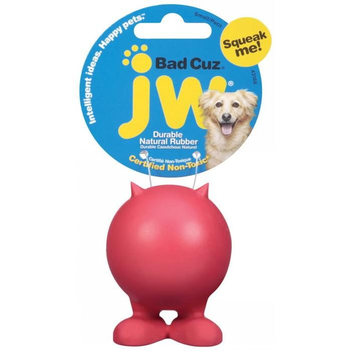 JW Pet Bad Cuz Small Red