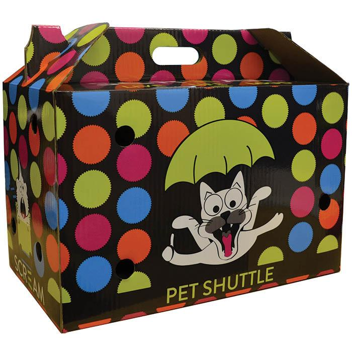 Scream Cardboard Pet Shuttle