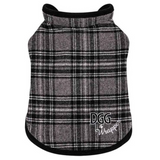 DogGone Gorgeous Wrapper Grey Tartan
