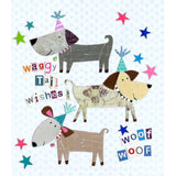 Jodds Waggy Tail Wishes Mini Birthday Card