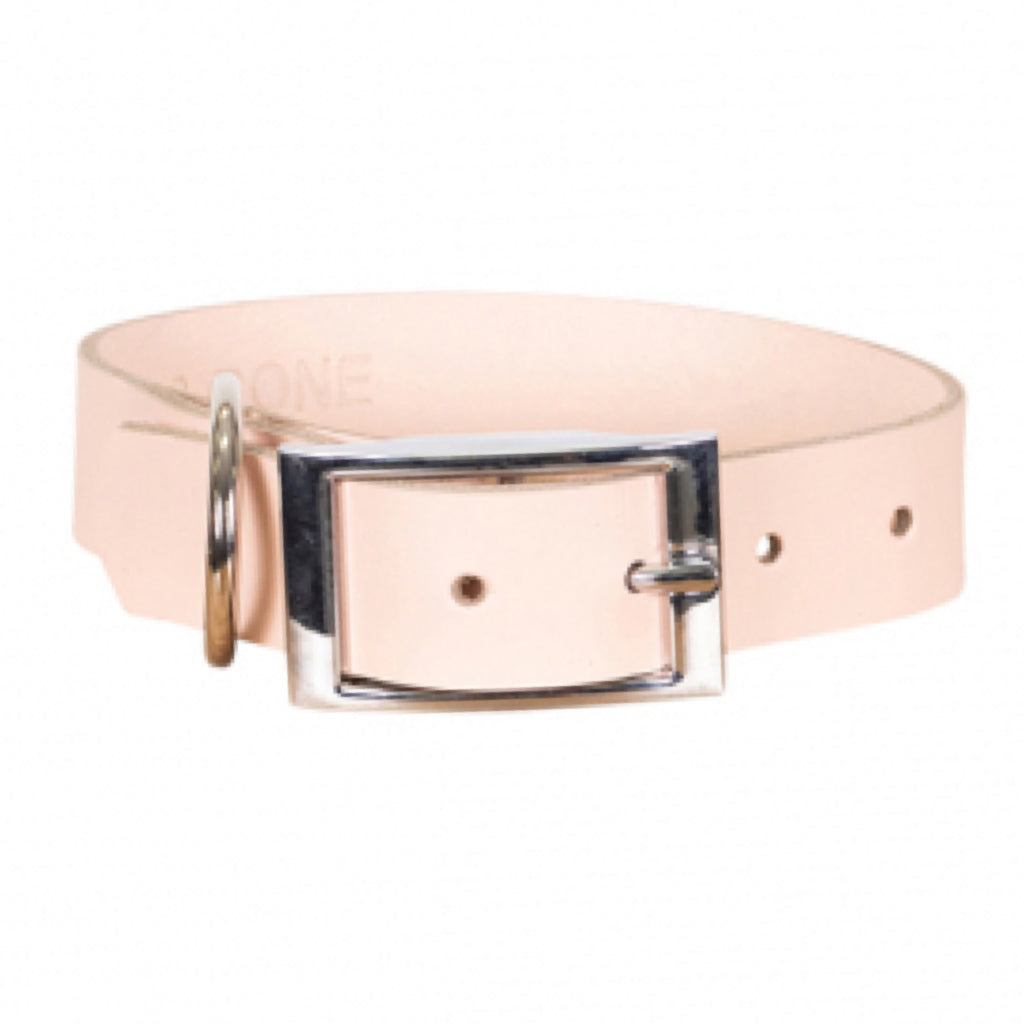 Mog & Bone Genuine Leather Collar Quartz