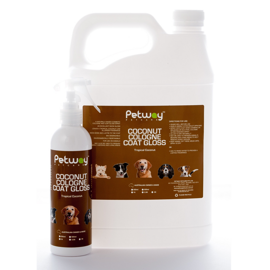 Petway Petcare Coconut Cologne Coat Gloss