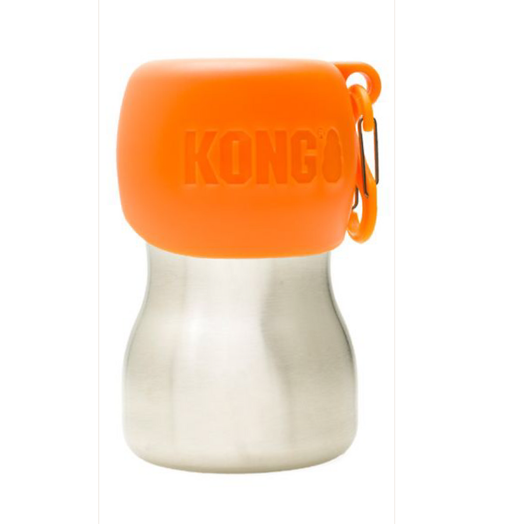 KONG H2O Stainless Steel Water Bottle 280ml Orange
