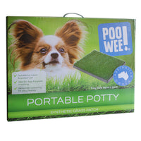 Poo Wee Grass Patch Portable Potty