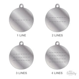 My Family ID Tag Charm Engraving Guide