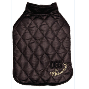 DogGone Gorgeous Wrapper Chewnel Quilted Black Chewnel