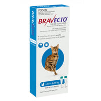 Bravecto Cat Spot On Blue 2.8-6.25kg 2pk