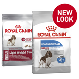 Royal Canin Medium Light Weight Care New Look
