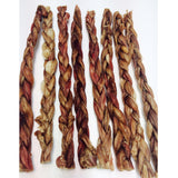 Dog Treat Naturalicious Steer Braided Pizzle Length 20cm
