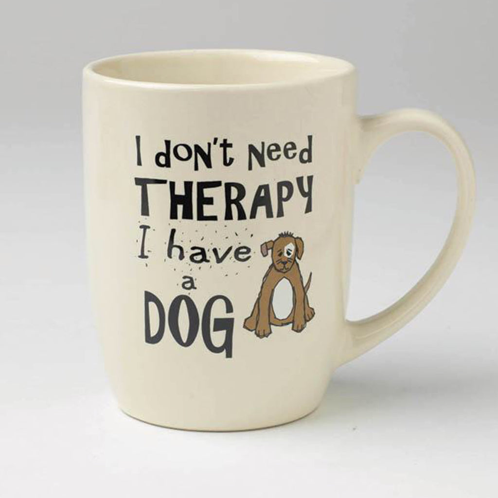 Pet Rage Us Designs I Don't Need Therapy Mug 700ml