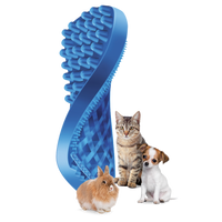 Pet+Me soft brush for Small Animals, Cats & Small Dogs with Short Hair