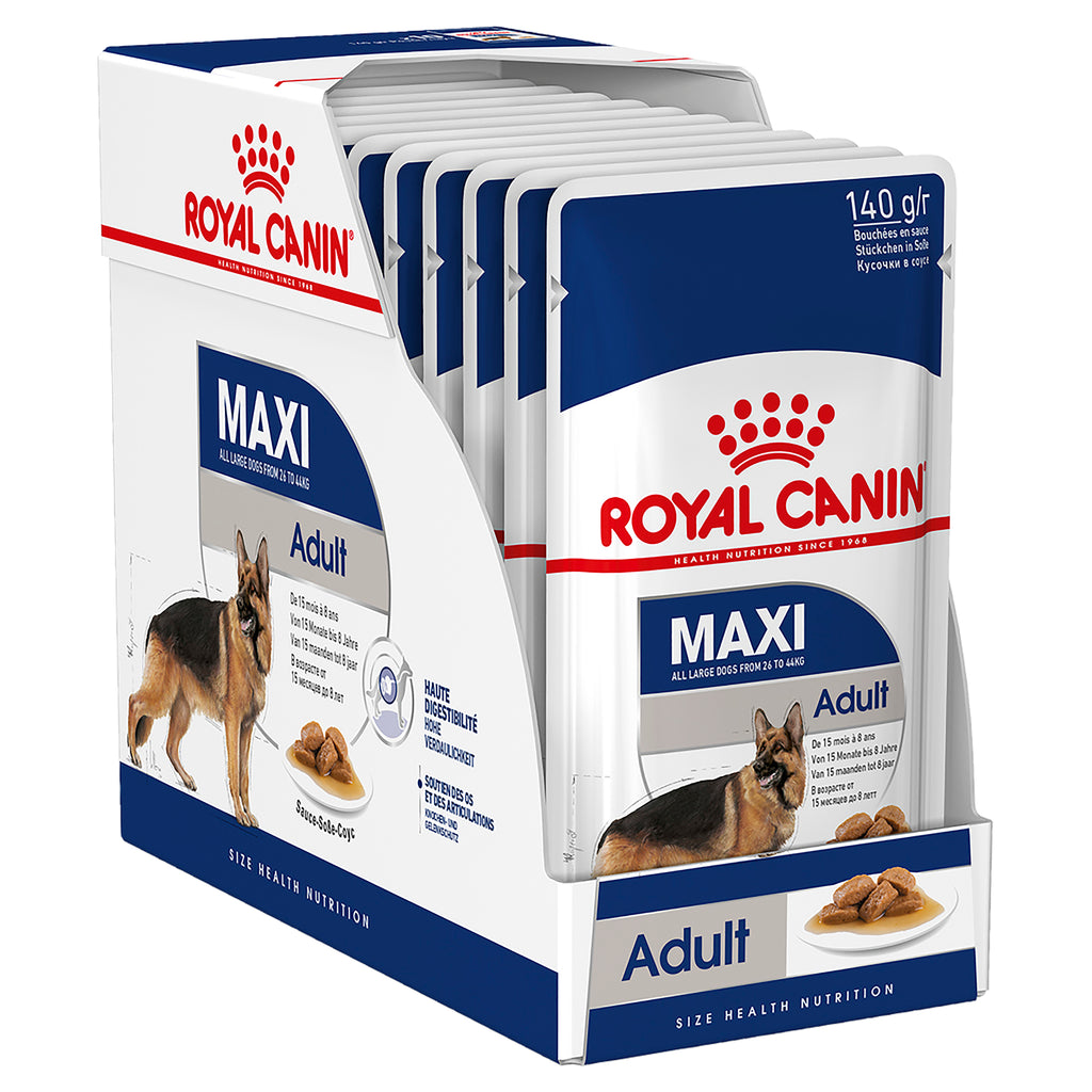 Royal Canin Maxi Adult 10 x 10g Tray