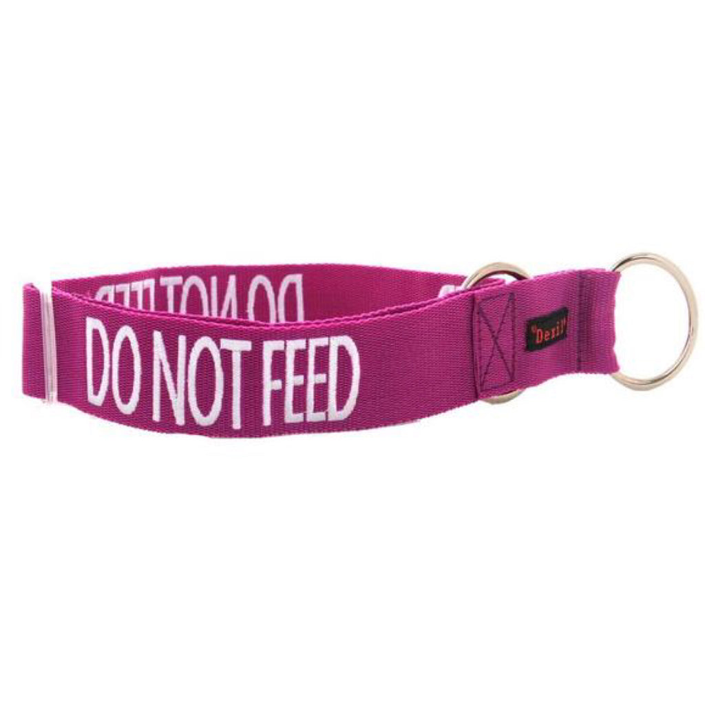 Friendly Dog Collars Do Not Feed Clip Collar