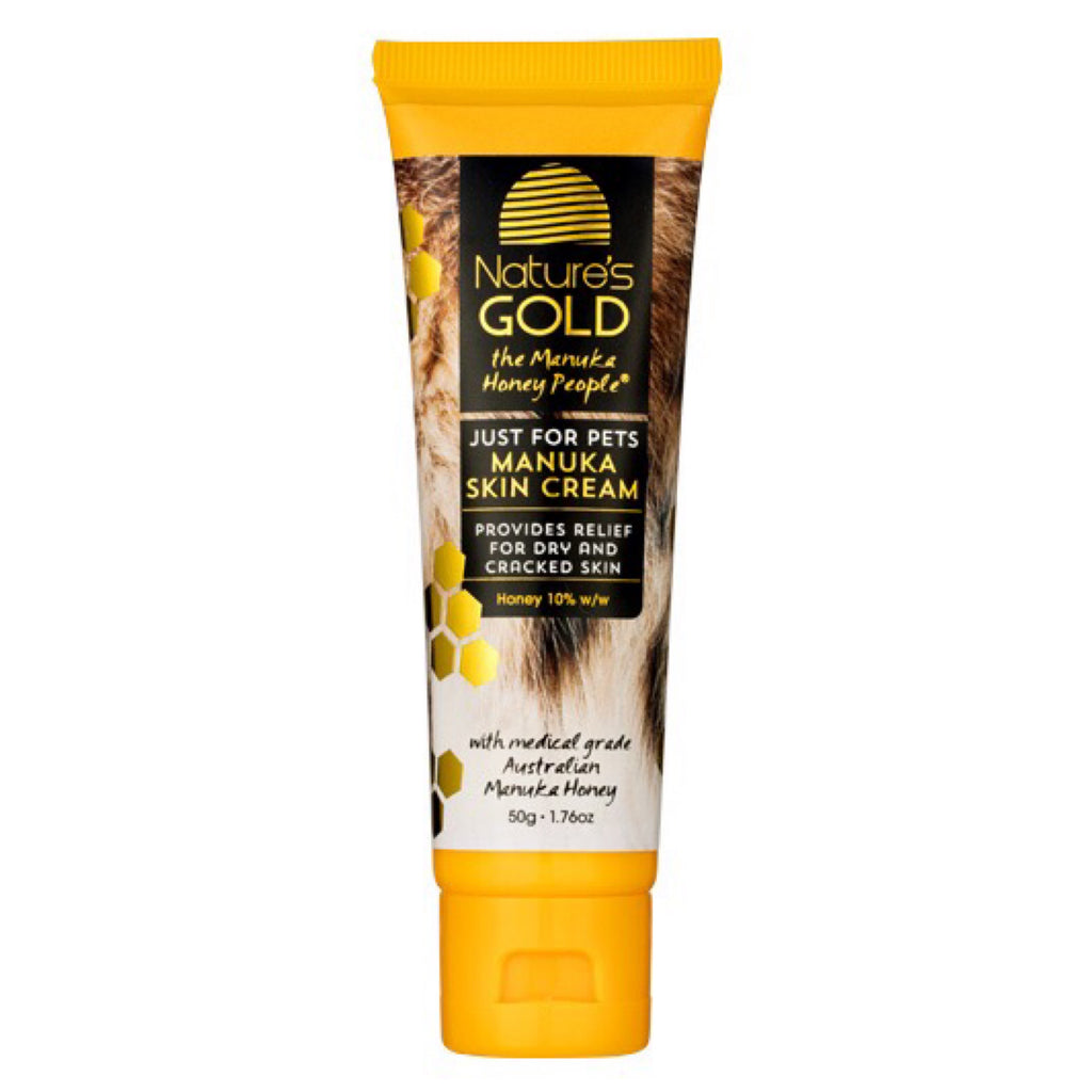Natures Gold Manuka Skin Cream For Pets 50g