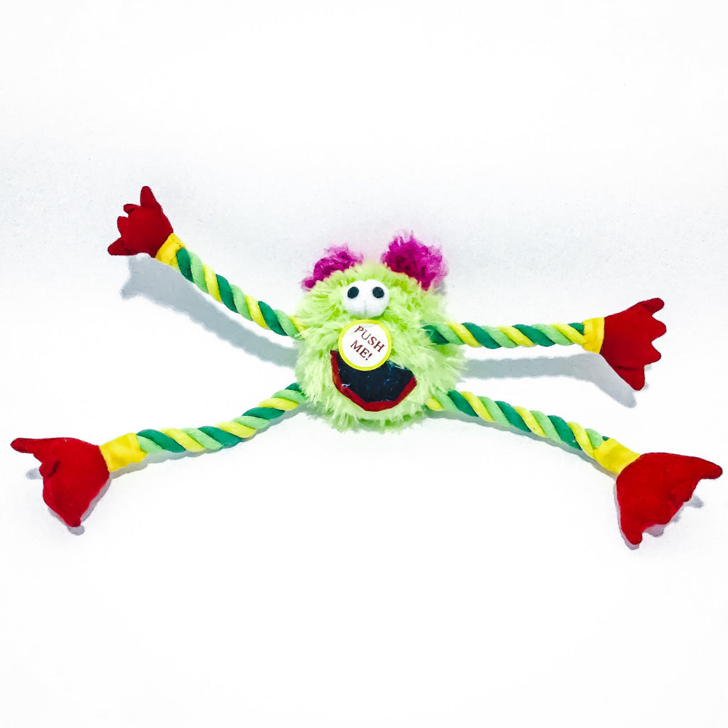 Jens Fluffy Squeaky Monster 20cm