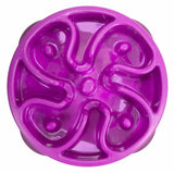 Outward Hound Fun Feeder Flower Purple Small