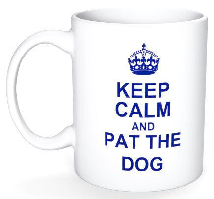 ATC Keep Calm & Pat The Dog Coffee Mug