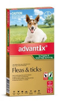 Advantix Green Small 0-4kg Spot On 3pk