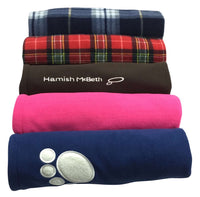Hamish McBeth Dog Fleece Blankets