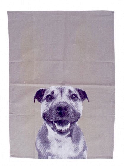 Mog & Bone Staffy Tea Towel