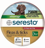 Seresto Fleas & Ticks Over 8kgs