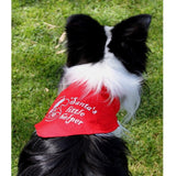 Dog Bless You Santa's Little Helper Bandana Medium