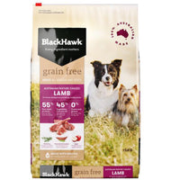 Black Hawk Grain Free Lamb 15kg
