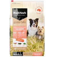 Black Hawk Adult Grain Free Salmon 15kg