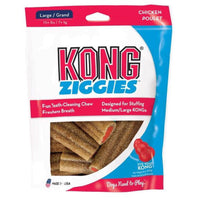 Treats KONG Ziggies Adult Chicken
