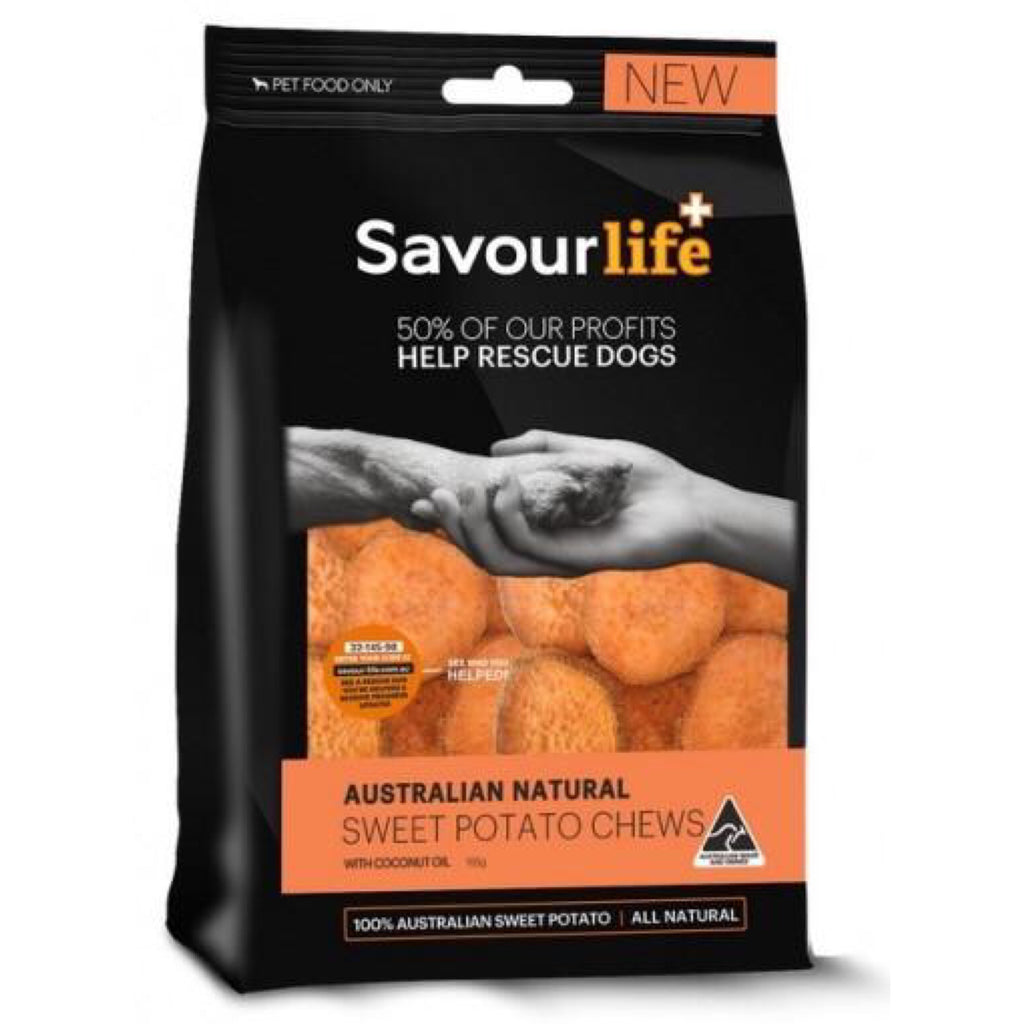 Savour Life Australian Natural Sweet Potato Chews 150g