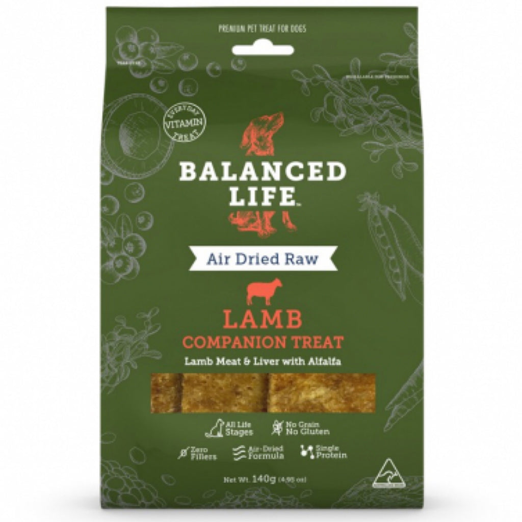 Treats Balanced Life Lamb Companion 140g