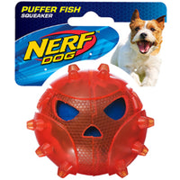 Nerf Dog Puffer Fish Ball