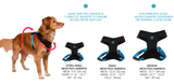 Zee.Dog Mesh Harness Sizing Guide