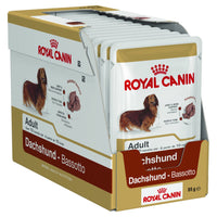 Dog Wet Food Royal Canin Adult Dachshund Loaf 85g x 12 Tray