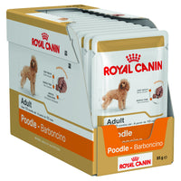Dog Wet Food Royal Canin Poodle Adult 85g x 12 Tray