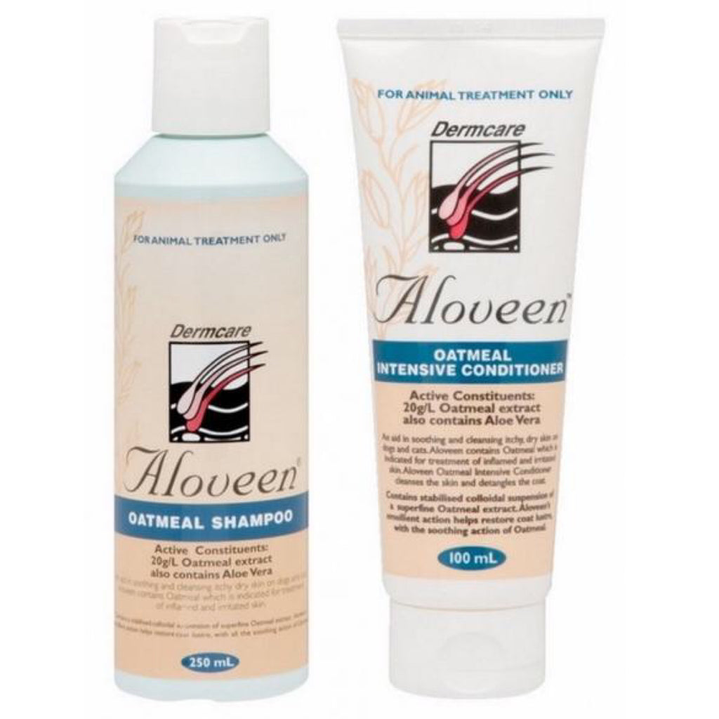 Dog Shampoo & Conditioner Aloveen Starter Kit