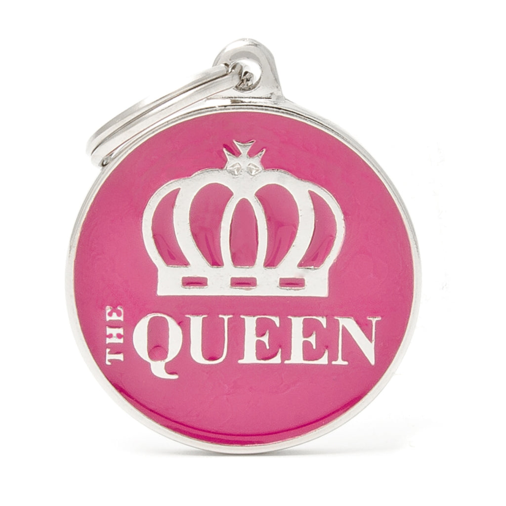 My Family The Queen ID Tag Charm