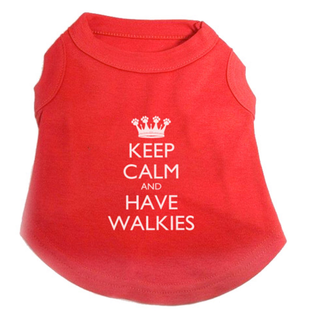 Pet Brands Keep Calm & Have Walkies T-Shirt