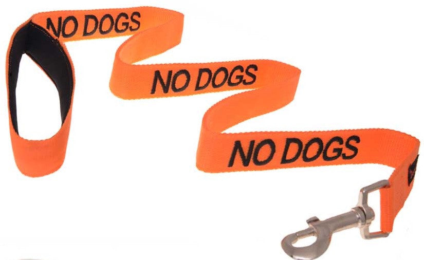 Friendly Dog Collars No Dogs Lead 120cm