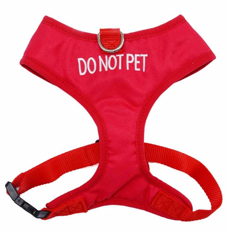 Dog Friendly Collars Do Not Pet Vest Harness