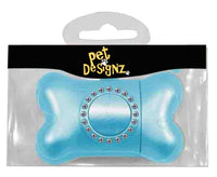 Pet Designz Bling Waste Dispenser Blue