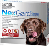 NexGard Chewables Red XLarge 25.1-50kgs 6pk