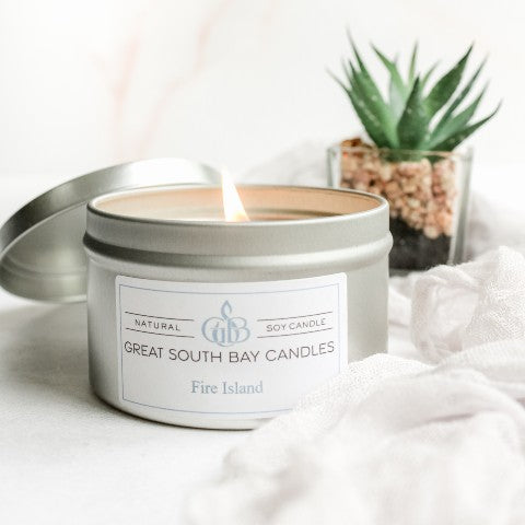 scented soy candles Fire Island beach scented candle